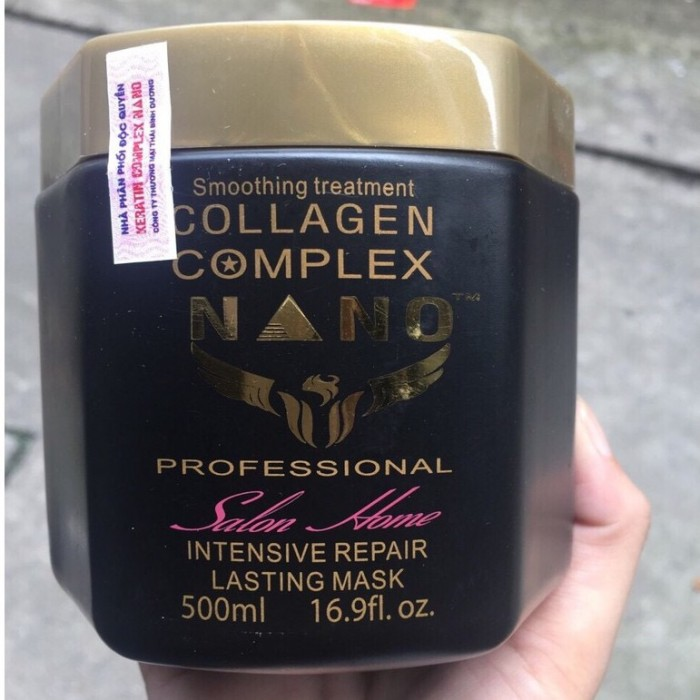 Kem hấp dầu Collagen Nano Complex phục hồi hư tổn 500ml1