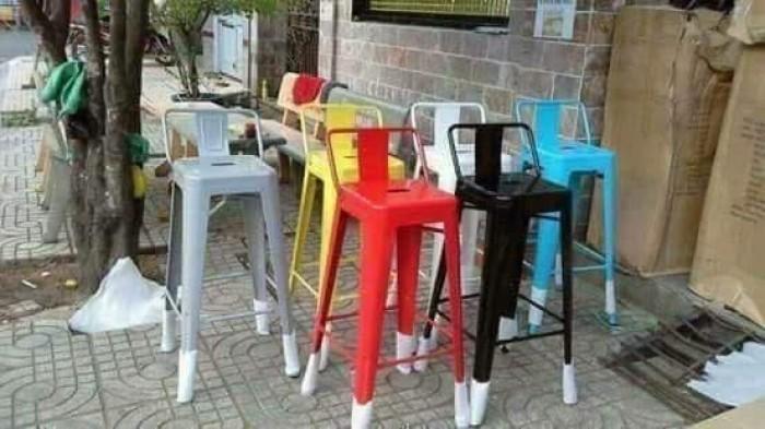 Ghế bar sắt tolix giá tại xưởng