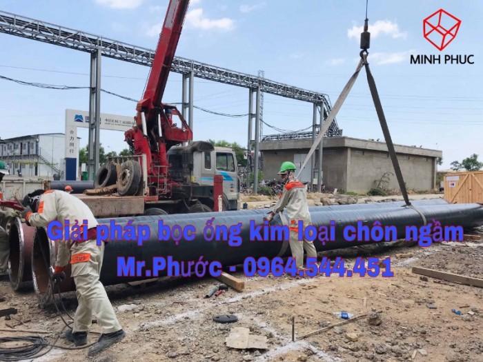 Bitum bảo vệ đường ống pccc chôn ngầm1
