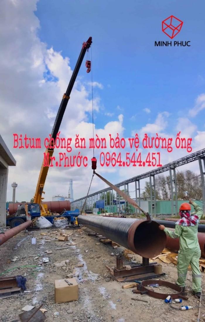 Bitum bảo vệ đường ống pccc chôn ngầm8