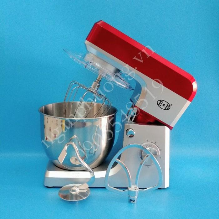 Máy đánh trứng, trộn bột công nghiệp EB1701 công suất 1500W, bồn Inox 7 lit0