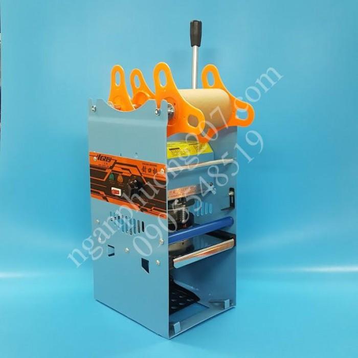 Máy dập nắp ly, dán miệng ly WY-802F 270W - Dập bằng tay.0