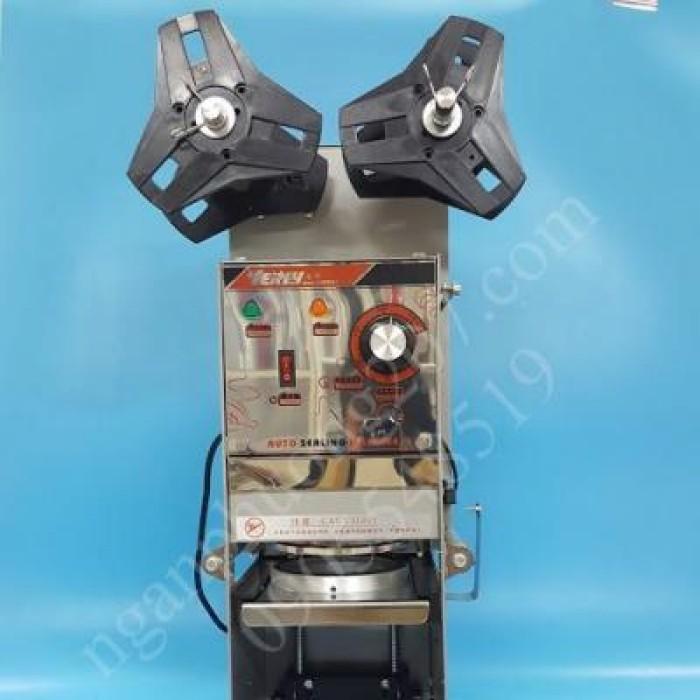 Máy dập nắp, dán miệng ly/cốc bán tự động WY680 350W4