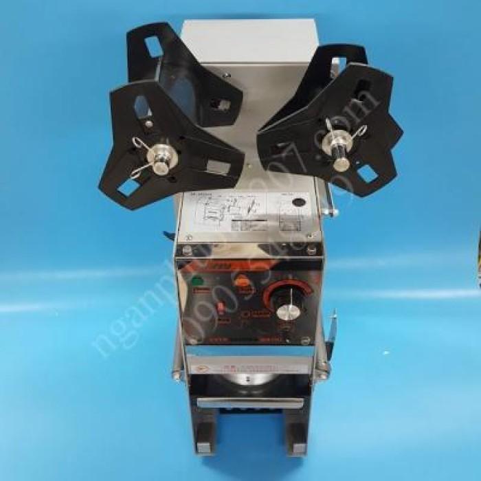 Máy dập nắp, dán miệng ly/cốc bán tự động WY680 350W7
