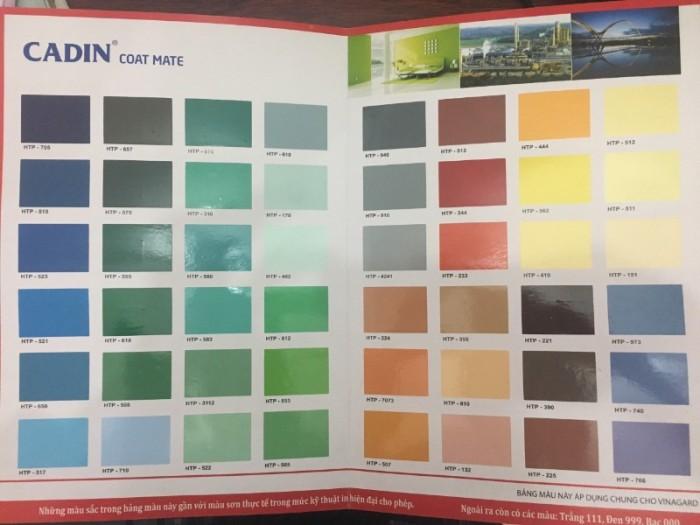 Đơn vị chuyên cung cấp sơn epoxy CADIN giá rẻ cho sàn nhà xưởng tại Tây Ninh0