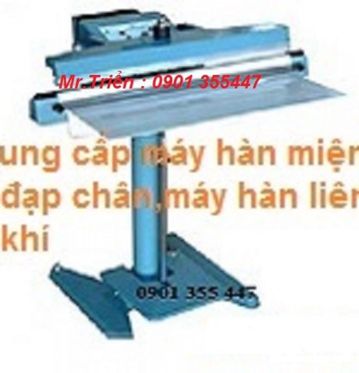 Máy hàn miệng bao nhôm,thiết ,tráng bạc dạng đứng WP-1100V giá rẻ Bình Dương7