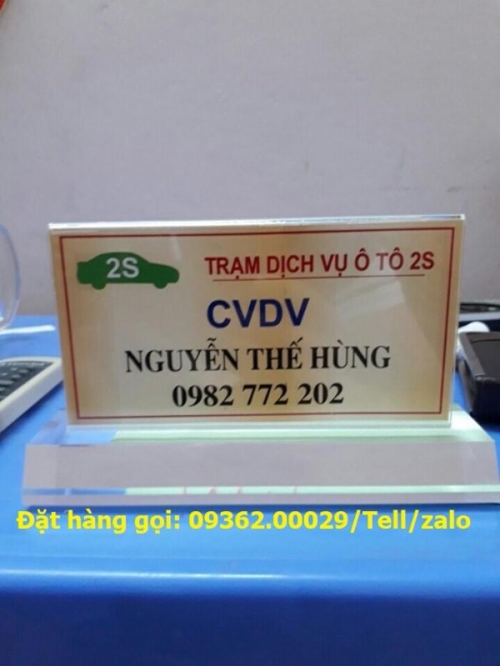 Bảng hiệu biển chức danh để bàn- Biển chức danh phòng ban4