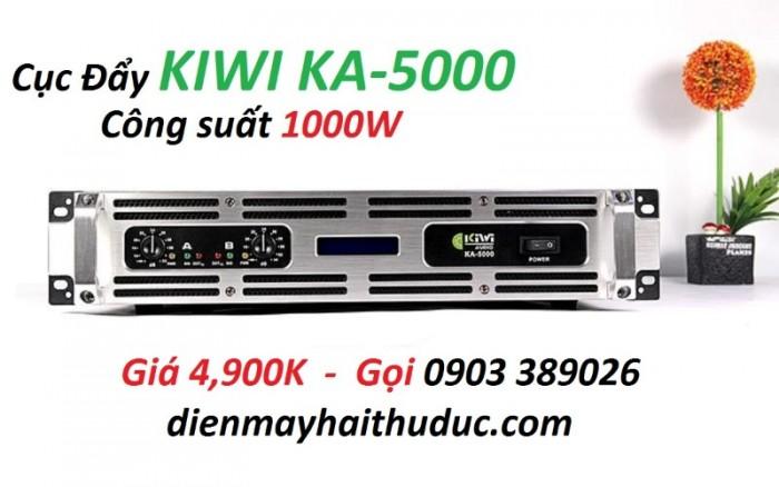 Cục đẩy công suất Kiwi KA-5000 là thương hiệu sản xuất tại Việt Nam0