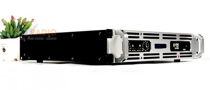 Cục đẩy công suất Kiwi KA-5000 Thiết kế cứng cáp, sang trọng đẹp về kiểu dáng và chất lượng âm thanh của hãng Kiwi 2