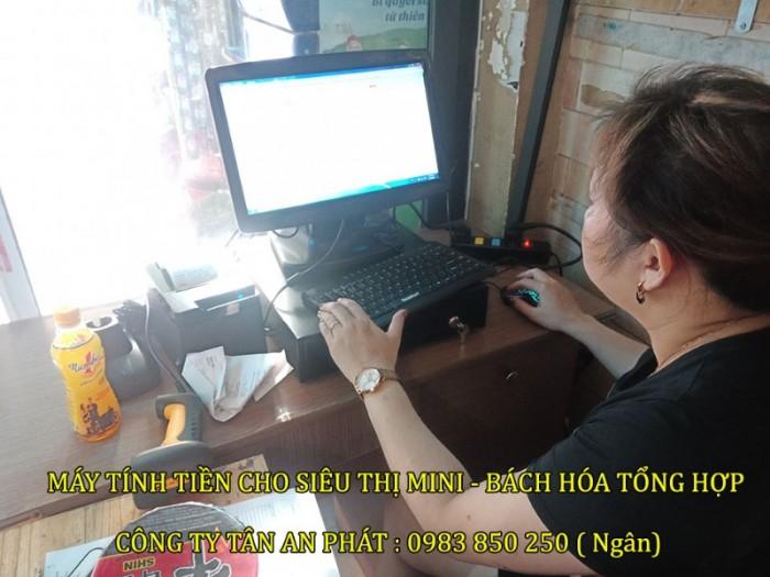 Bộ máy tính tiền cho siêu thị - Mini mart Tại Đà Nẵng0
