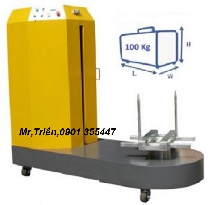 Máy quấn kiện hành lý chính hãng Wellpack WP-56 giá rẻ Đồng Nai0
