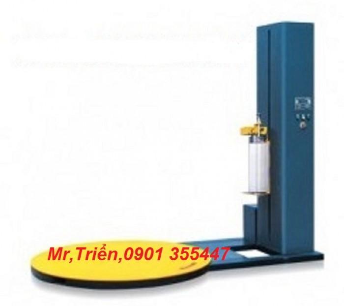 Máy quấn kiện hành lý chính hãng Wellpack WP-56 giá rẻ Đồng Nai3