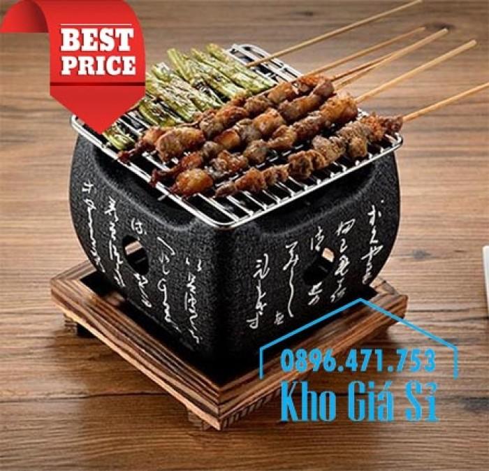 Bếp nướng gang kiểu Nhật - Lò nướng Nhật Bản - Bếp nướng than bằng gang kiểu Nhật HCM22