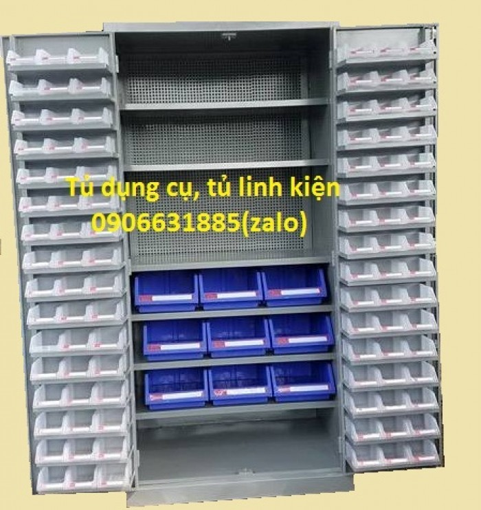 Tủ đựng linh kiện, tủ đựng đồ nghề, tủ cơ khí1