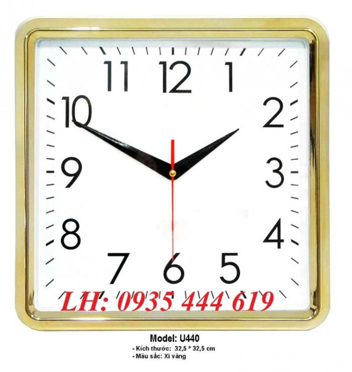 Đồng hồ treo tường in logo doanh nghiệp tại Huế4