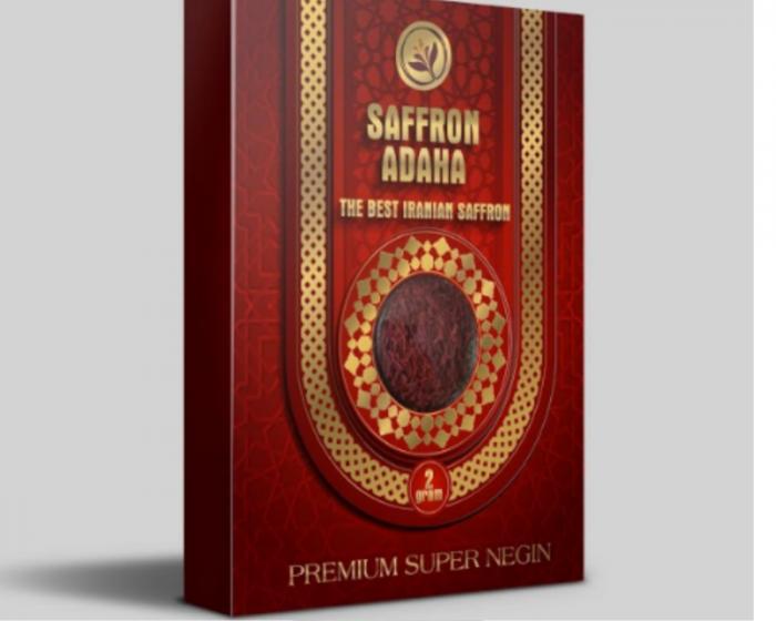 Hộp quà tặng Nhụy hoa nghệ tây - saffron Adaha Iran - saffron giá sỉ, giá bán buôn1