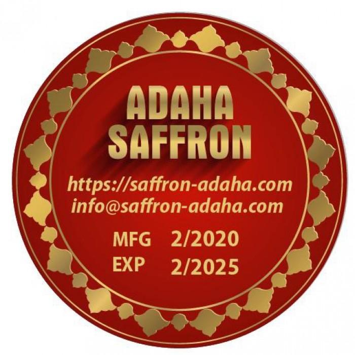 Hộp quà tặng Nhụy hoa nghệ tây - saffron Adaha Iran - saffron giá sỉ, giá bán buôn2