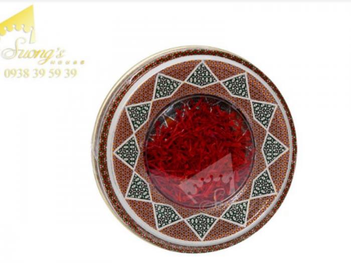 Hộp quà tặng Nhụy hoa nghệ tây - saffron Adaha Iran - saffron giá sỉ, giá bán buôn4