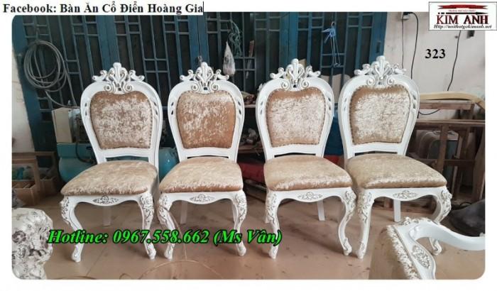 mẫu ghế ăn phong cách tân cổ điển châu âu2