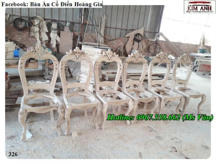 ghế ăn cổ điển giá rẻ tại xưởng 4
