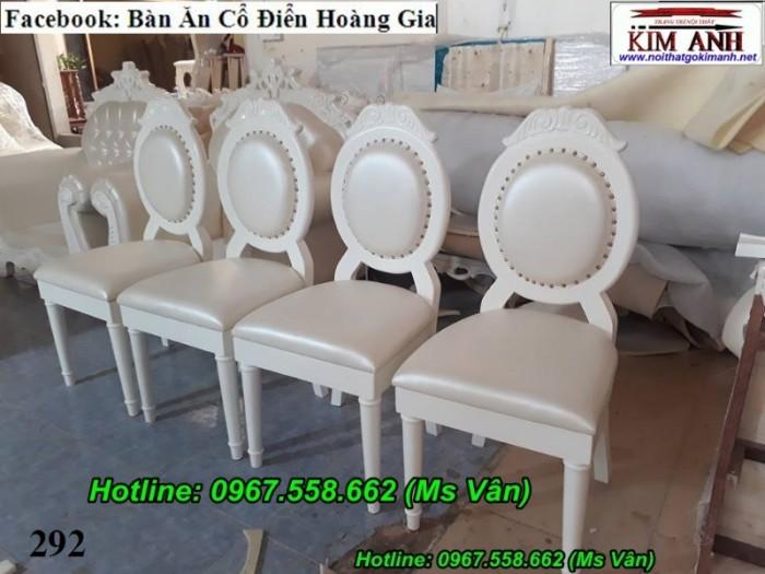 mẫu ghế ăn tân cổ điển đơn giản 6