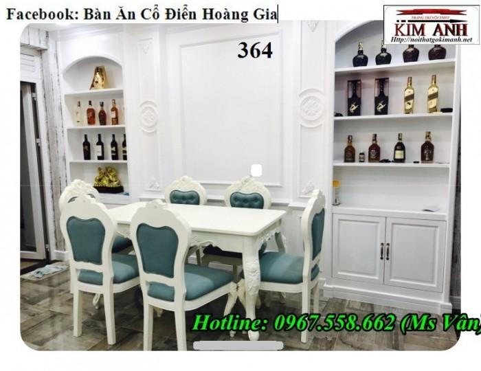 mua bộ bàn ăn tân cổ điển đẹp Tây Ninh Cần Thơ 10