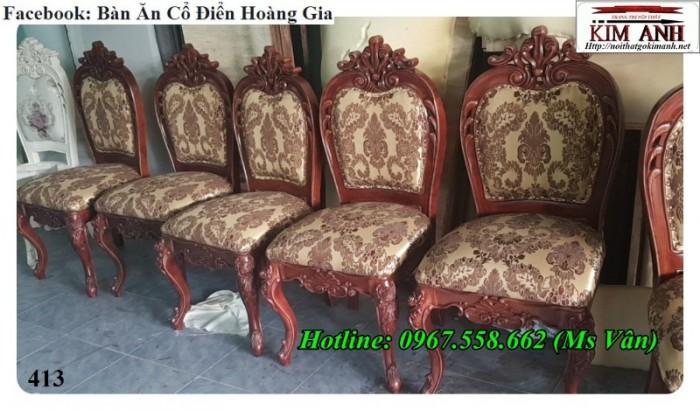 mua ghế ăn gỗ cổ điển giá rẻ 11