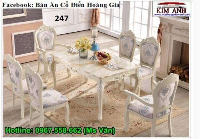 Xưởng sản xuất ghế ăn tân cổ điển châu âu gỗ tự nhiên cao cấp giá rẻ14