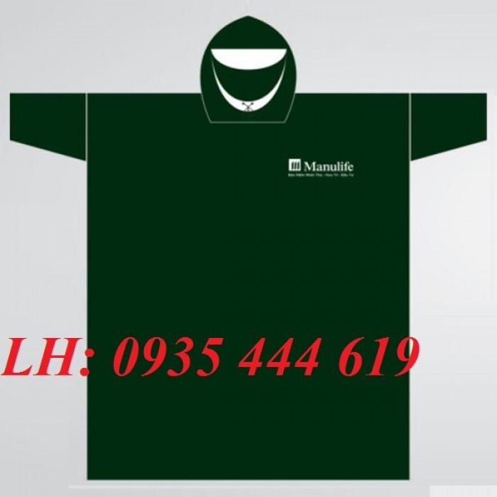 Công ty sản xuất áo mưa in logo khách hàng giá rẻ tại Huế2