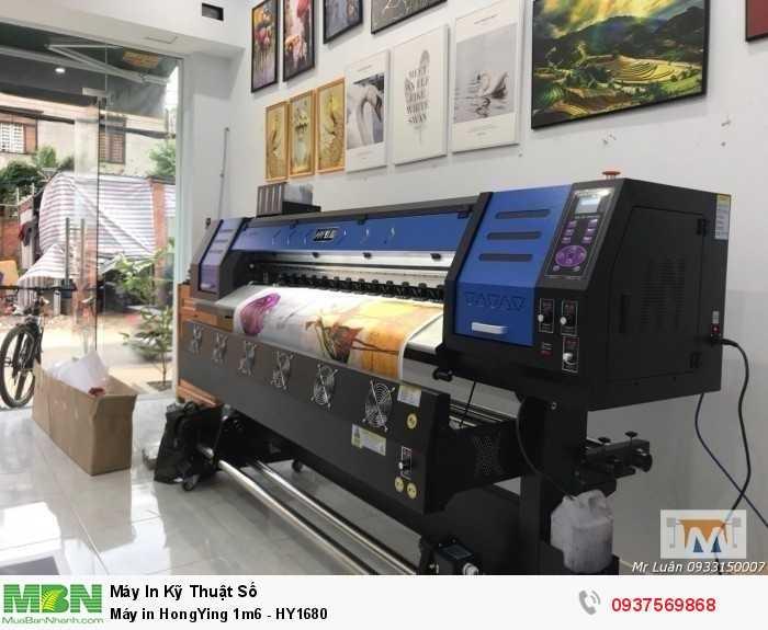 Máy in HongYing 1m6 - HY1680  - Ảnh: 54
