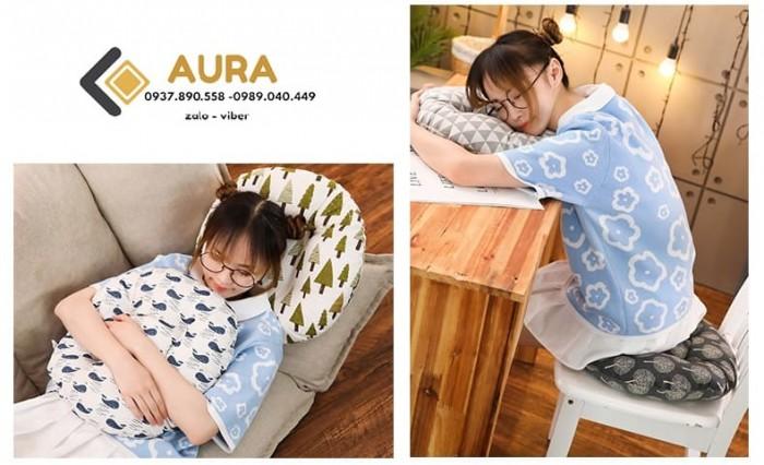 Nệm ngồi hình tròn giá sỉ - Đệm ngồi Aura5