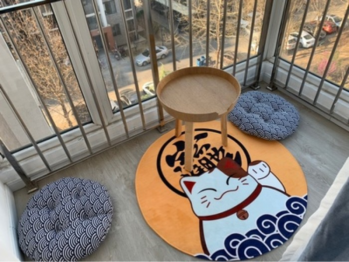 Nệm ngồi hình tròn giá sỉ - Đệm ngồi Aura2