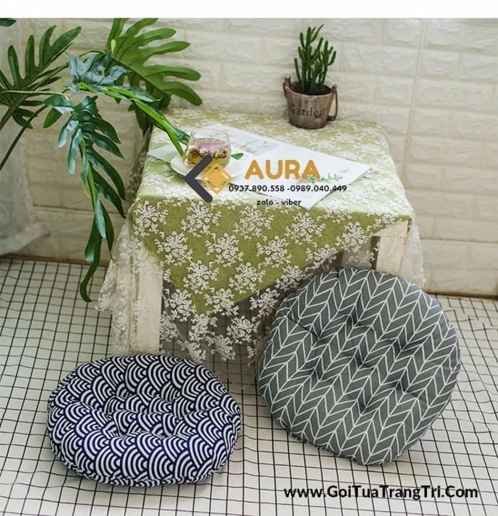 Nệm ngồi hình tròn giá sỉ - Đệm ngồi Aura11