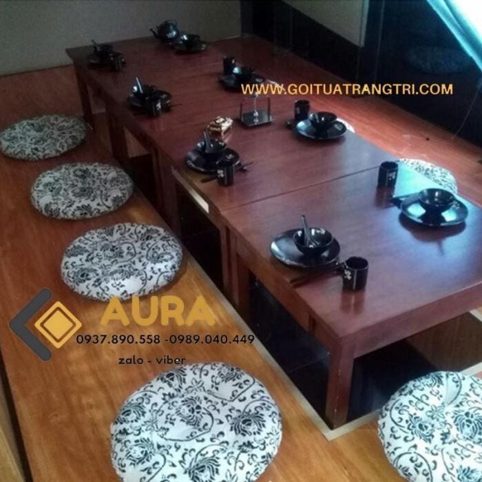 Nệm ngồi hình tròn giá sỉ - Đệm ngồi Aura14