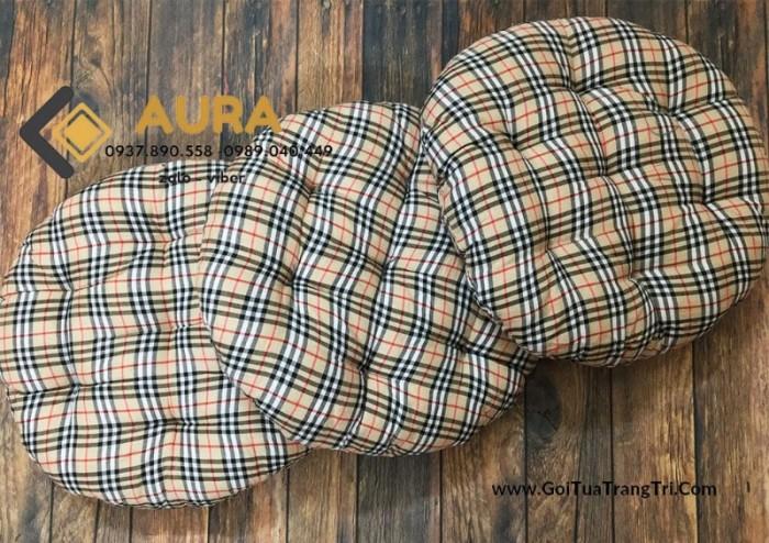 Nệm ngồi hình tròn giá sỉ - Đệm ngồi Aura8