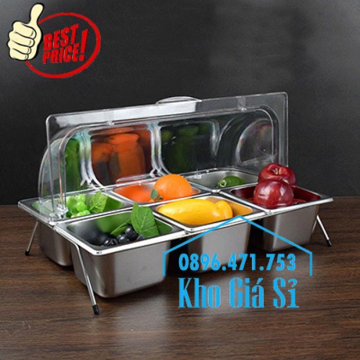 Nắp nhựa mica mở 180 độ đậy thức ăn - Nắp nhựa mica trong suốt mở 1/2 đậy khay buffet tại HCM1