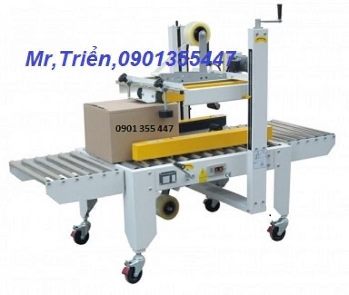Máy dán thùng carton chính hãng Wellpack WP-5050TS giá rẻ Long An0