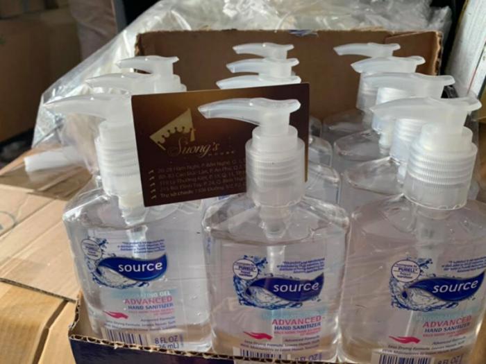 Combo bảo vệ sức khỏe Ngừa Corona Khẩu trang Suong Mask nước súc họng diệt khuẩn, kẹo  Vitamin C Mỹ + Gel rửa tay khô Mỹ + dung dịch sát khuẩn 4