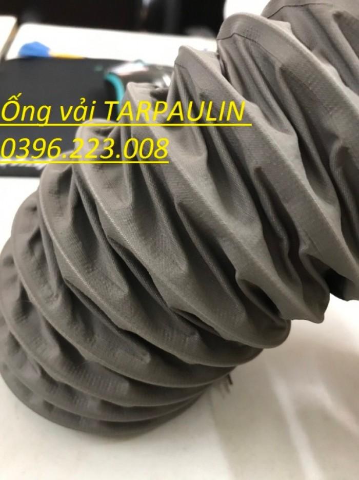 Ống hút bụi lõi thép vải simili thông gió chất lượng cao4