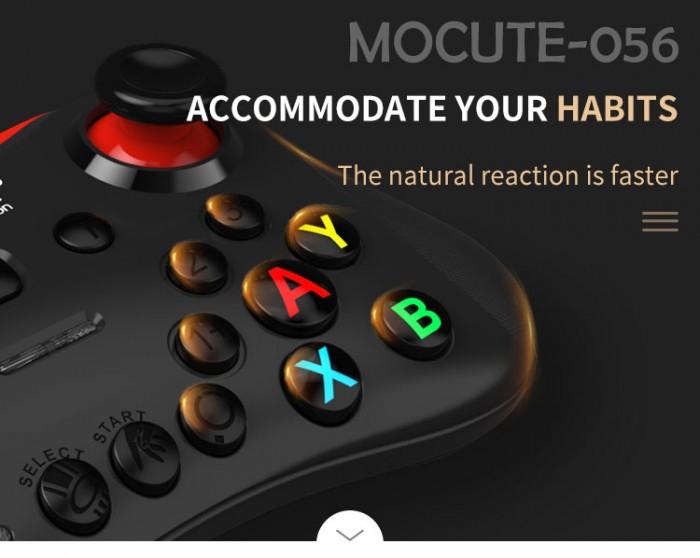 Tay cầm chơi game bluetooth Mocute 056 cho ios android hỗ trợ liên quân0