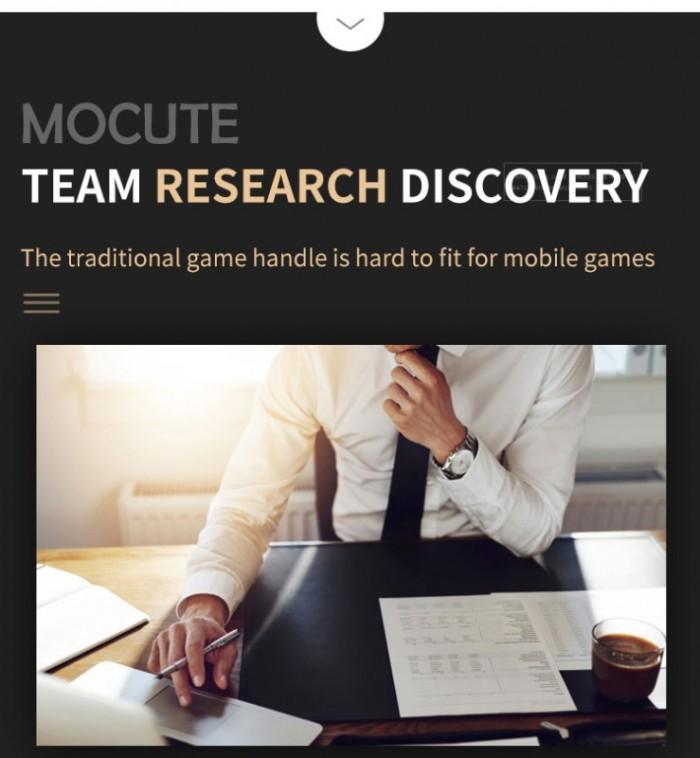 Tay cầm chơi game bluetooth Mocute 056 cho ios android hỗ trợ liên quân8