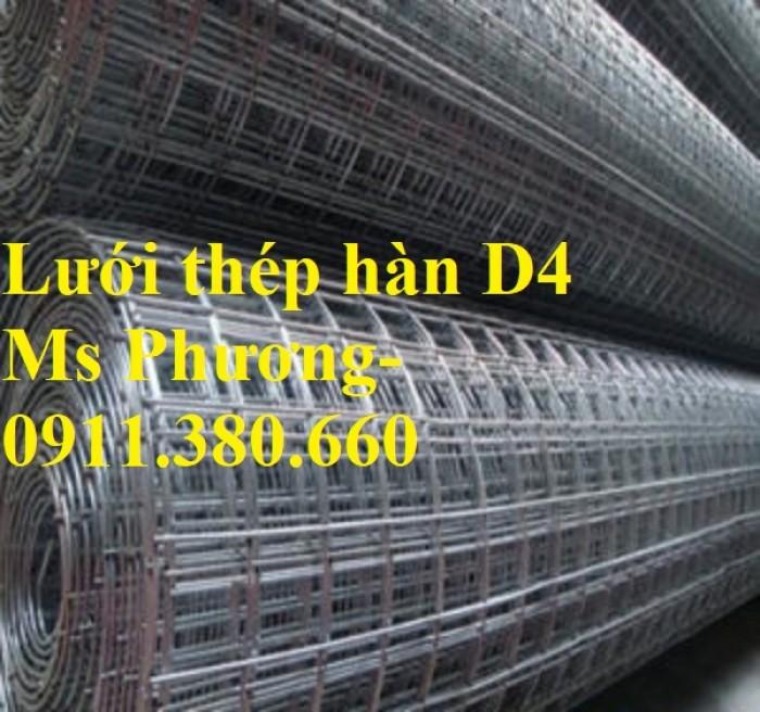 Lưới thép hàn, hàng rào lưới sắt D4 ô 200x200, ô 100x100,... hàng mạ kẽm1