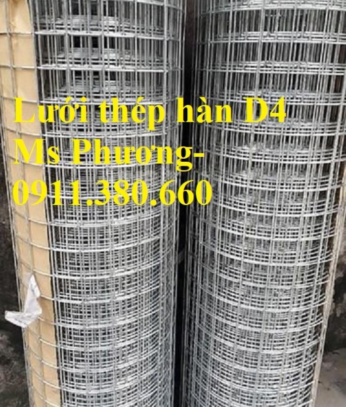 Lưới thép hàn, hàng rào lưới sắt D4 ô 200x200, ô 100x100,... hàng mạ kẽm2