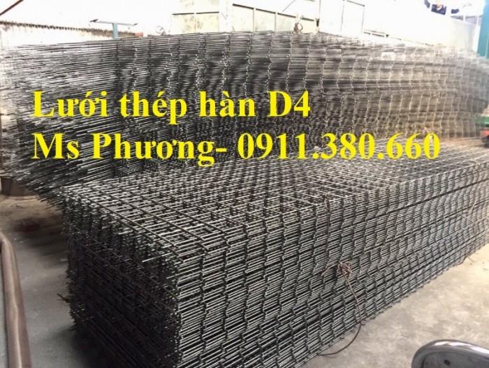 Lưới thép hàn, hàng rào lưới sắt D4 ô 200x200, ô 100x100,... hàng mạ kẽm3