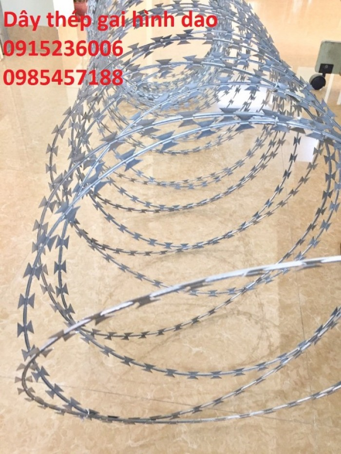 Chuyên Dây thép hình dao vòng 45cm tại Hà Nội2