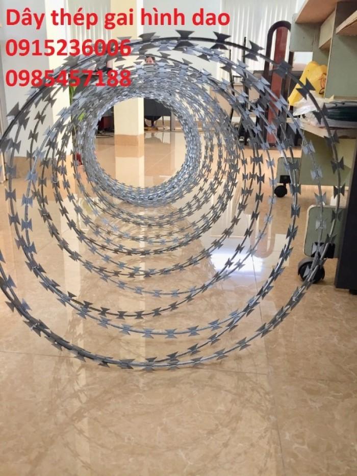 Chuyên Dây thép hình dao vòng 45cm tại Hà Nội