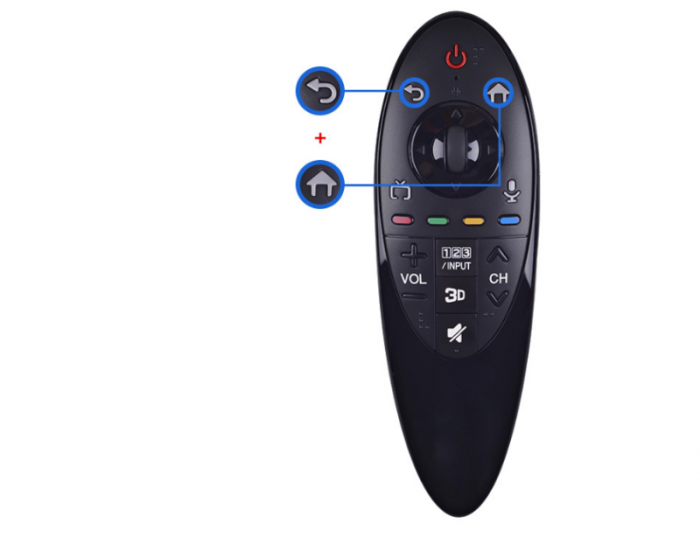 Điều khiển Remote Tivi LG AN-MR500G MR500 TV REMOTE CONTROL 3D FUNCTION WITHOUT VOICE MAGIC1
