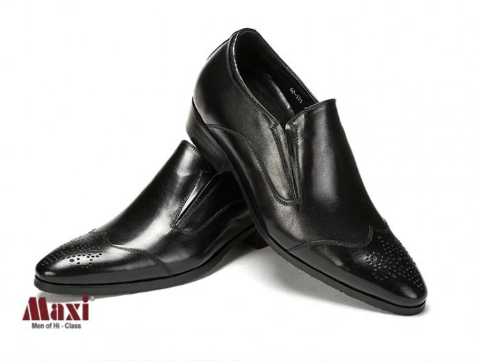 Giày nam tăng chiều cao kiểu dáng trẻ trung, da bò 100%3