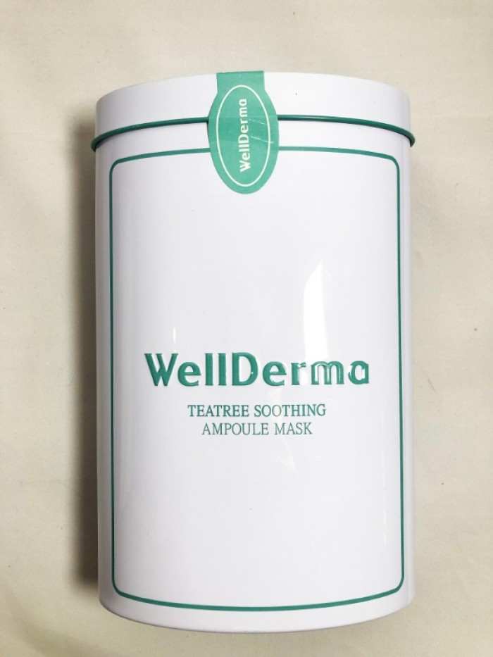 Mặt nạ dưỡng Wellderma Teatree Soothing Ampoule Mask 25ml3