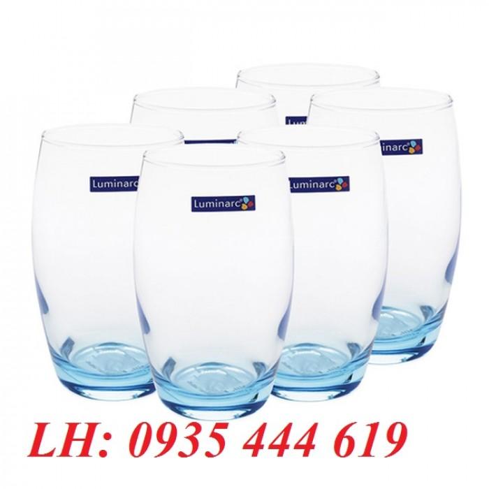 Ly thủy tinh, bộ bình ly thủy tinh các loại in logo tại Huế2